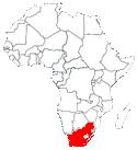 l'Afrique du Sud en Afrique