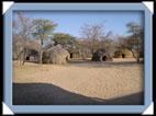 Hutte Bushmen Botswana