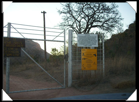 Barrière de protection Sud-Africaine