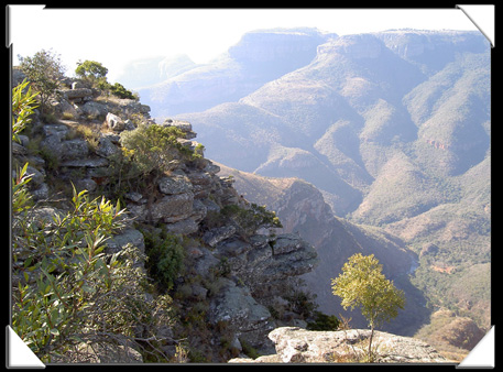 paysages blyde river canyon