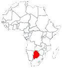 botswana en Afrique
