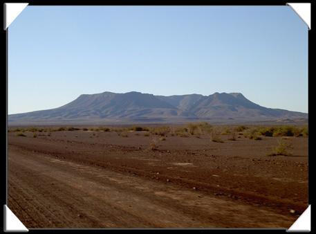volcan mont brukkaros en namibie