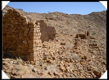 ruine en namibie