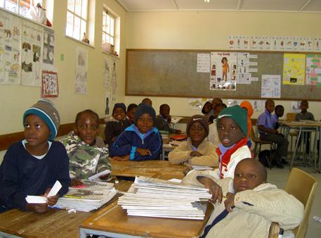 ecole primaire Okakarara namibie