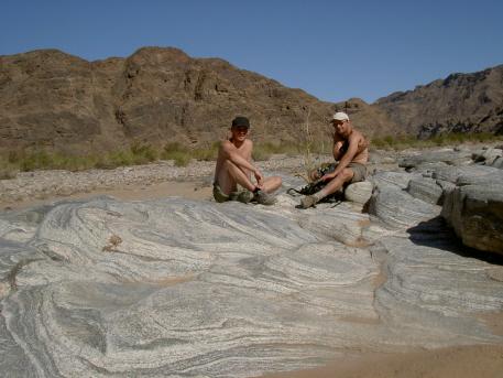 fish river canyon ai ais namibie