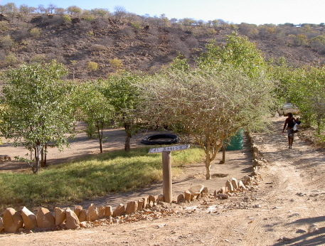 opuwo kunene restcamp namibie