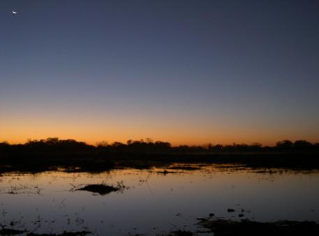 pan eau salambala caprivi namibie