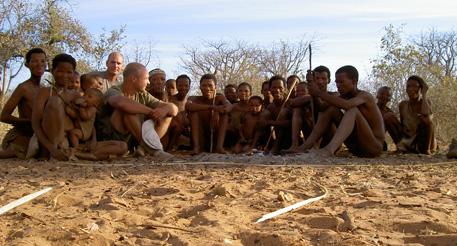 peuple bushmen