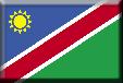 Flag Namibie