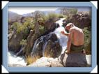 Epupa falls chute eau Namibie