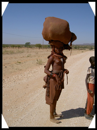 fille himba