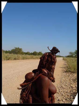 himba et son enfant