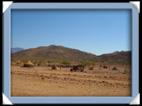 village himba Namibie