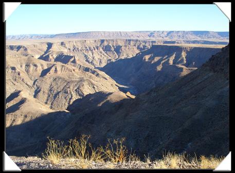 beau paysage de Namibie