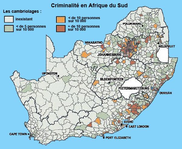 cambriolages en afrique du sud