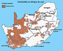 Crime africa South: rape