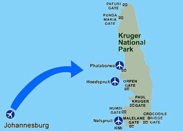aeroport du parc Kruger