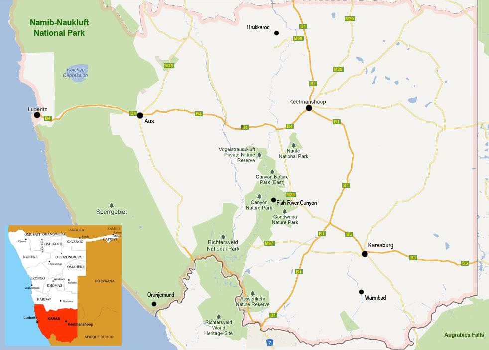 Karas map