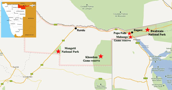 Kavango attraction