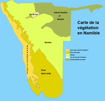 climat en namibie