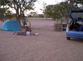 Aba huab campsite twyfelfontein