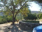 hippo Pool Campsite at Ruacana falls