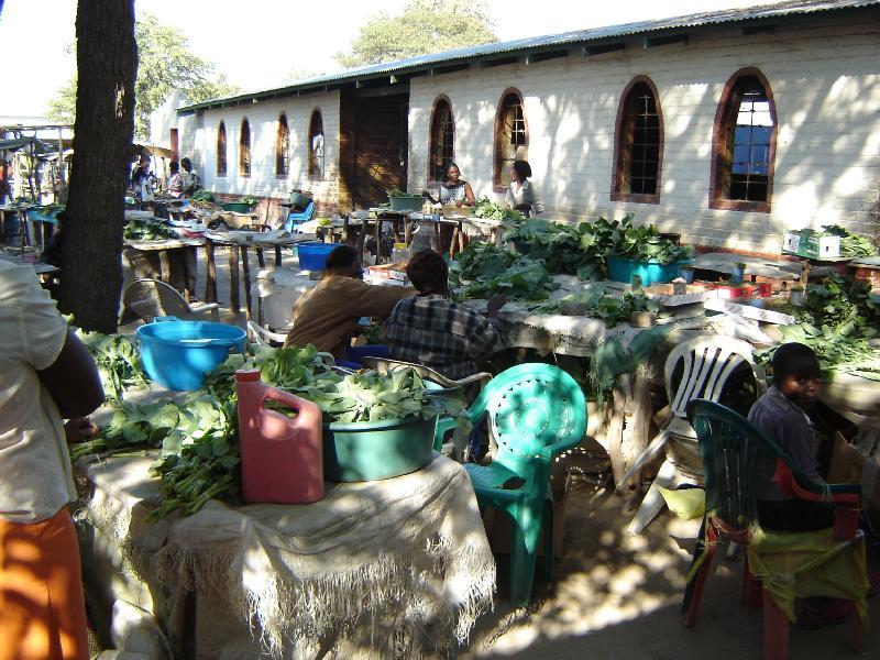 The market in Katima Mulilo