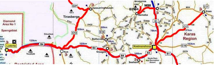 map northern Karas