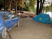 Camp Bushman Ruacana falls