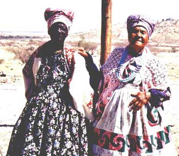 Nama people of Namibia
