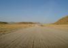 route 36 ou C19 entre sesriem et solitaire en namibie