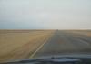 route B2 entre walvisbay et swakopmund en namibie