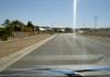 route B3 entre karasburg et grunau en namibie