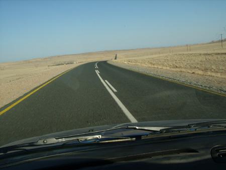 route B4 en namibie