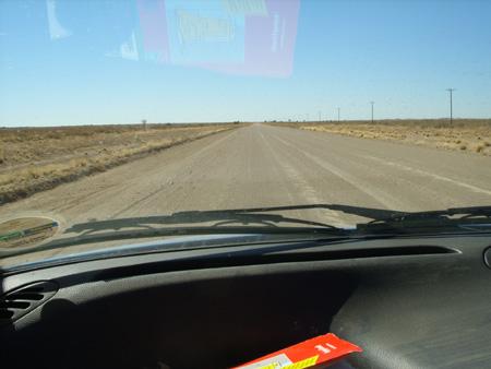 route C17 en Namibie