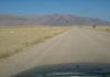 route D2359 entre la C35 et White Lady ( Brandberg ) en namibie