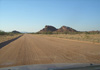 road  D2612 between C35 and  twyfelfontein