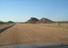 route D2612 entre la C35 et twyfelfontein en namibie