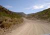 road D3704 between sesfontein and opuwo