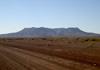 piste D3904 entre berseba et le mont brukkaros en namibie