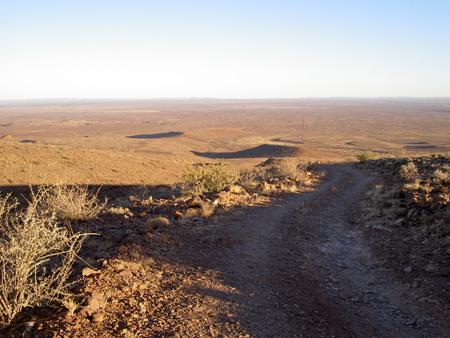 Trail of brukkaros
