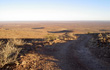 piste du mont brukkaros en namibie