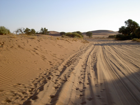 piste parkinG de sossusvlei