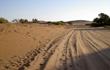piste entre le parking et sossusvlei ( 4x4 obligatoire ) en namibie