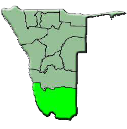region of karas namibie