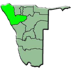 region the Kunene namibie