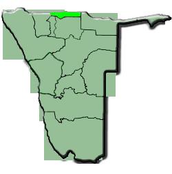 carte de Ohangwena