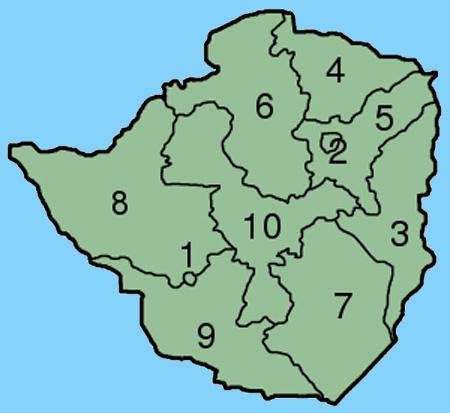 province du zimbabwe