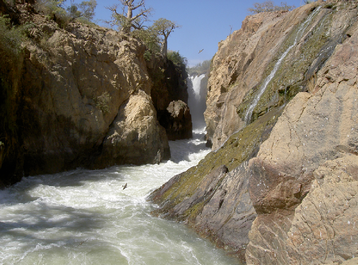 canyon of Epupa Falls