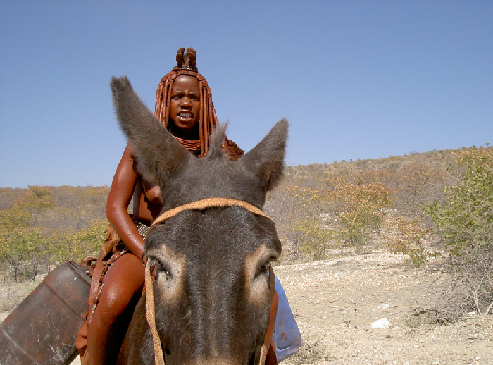 himba namibie